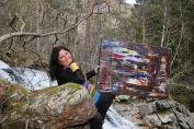 Kunstner og maleri i pakt med naturen